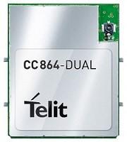- CC864-DUAL CDMA-1xRTT 2G wireless module
