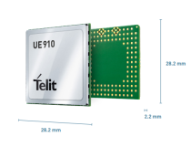 Telit - HSPA 7.2 Mbps technology member of the xE910 family