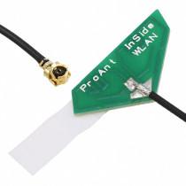 InSide WLAN triangular, 100 mm MHF (U.FL)